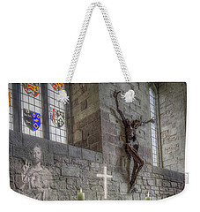 Weekender Tote Bag featuring the photograph Easter  The Resurrection Of Jesus by Ian Mitchell
