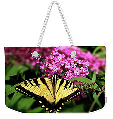 Eastern Tiger Swallowtail Butterfly Weekender Tote Bag