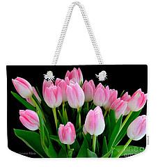 Easter Tulips  Weekender Tote Bag by Jeannie Rhode