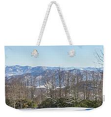 Easterly Winter View Weekender Tote Bag