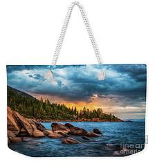 Eastern Glow At Sunset Weekender Tote Bag