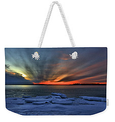 Eastern Lights  Weekender Tote Bag