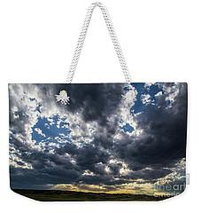 Eastern Montana Sky Weekender Tote Bag