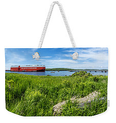 Eastern Passage Weekender Tote Bag by Ken Morris