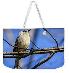 Eastern Phoebe Weekender Tote Bag