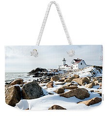Eastern Point Light II Weekender Tote Bag
