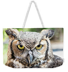 Eastern Screech Owl Portrait Weekender Tote Bag