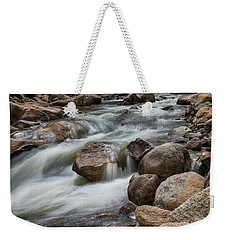 Weekender Tote Bag featuring the photograph Easy Flowing by James BO Insogna
