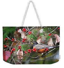 Easy Pickings Robin Weekender Tote Bag