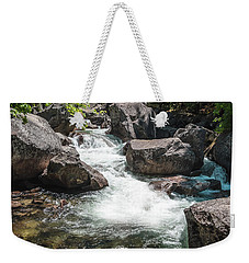 Weekender Tote Bag featuring the photograph Easy Waters- by JD Mims