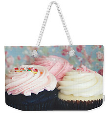 Eat The Cupcakes Weekender Tote Bag