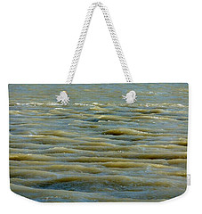 Weekender Tote Bag featuring the photograph Eaux Vertes by Marc Philippe Joly