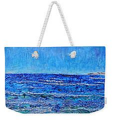 Ebbing Tide Weekender Tote Bag by Regina Valluzzi