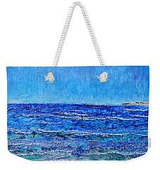 Ebbing Tide Weekender Tote Bag