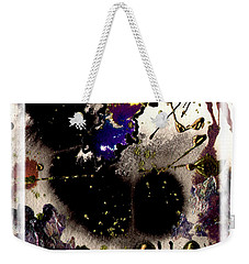 Ebony Nights Weekender Tote Bag by Angela L Walker