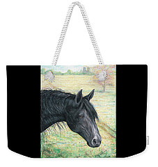 Ebony Weekender Tote Bag