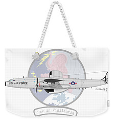Ec-121d Super Constellation Weekender Tote Bag