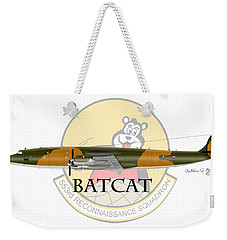 Ec-121r Batcat 553 Weekender Tote Bag