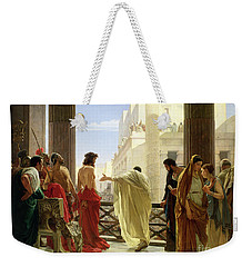 Ecce Homo Weekender Tote Bag by Antonio Ciseri