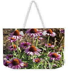 Echinacea Weekender Tote Bag by Cynthia Powell