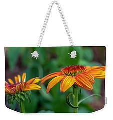 Echinacea Side View Weekender Tote Bag