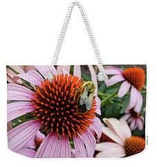 Echinacea Tea Time For Bee Weekender Tote Bag