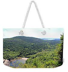 Echo Lake Beach Weekender Tote Bag