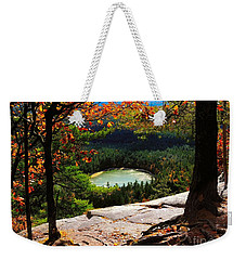 Echo Lake, New Hampshire Weekender Tote Bag