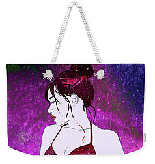Echo Velvet Weekender Tote Bag