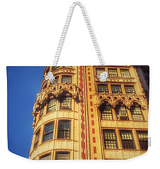 Echoes Of Another Era - Park Avenue Beauty Weekender Tote Bag by Miriam Danar