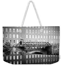 Echoes Of Mills Past Weekender Tote Bag by Greg Fortier