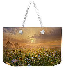 Echos The Sound Of Silence Weekender Tote Bag by Phil Koch