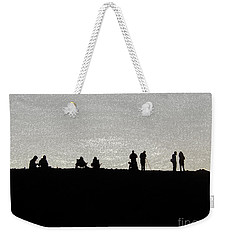 Eclipse Weekender Tote Bag by Ann Johndro-Collins