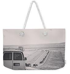 Eclipse Bound Weekender Tote Bag