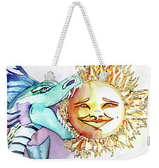 Eclipse Dragon Sun Eater Weekender Tote Bag