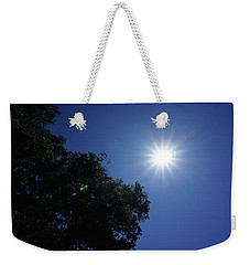 Eclipse Light Prism Weekender Tote Bag