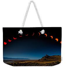 Eclipse Pano Weekender Tote Bag