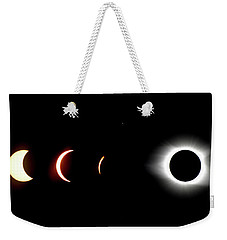 Eclipse To Totality Weekender Tote Bag