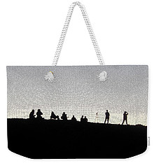 Eclipse Two Weekender Tote Bag by Ann Johndro-Collins