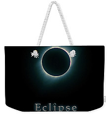 Weekender Tote Bag featuring the photograph Eclipse Wyoming by Rikk Flohr