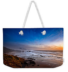 Ecola State Park At Sunset Weekender Tote Bag
