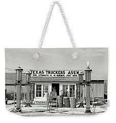 Edcouch Texas Gas Station 1939 Weekender Tote Bag by Daniel Hagerman