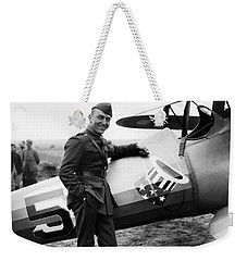 Eddie Rickenbacker - Ww1 American Air Ace Weekender Tote Bag