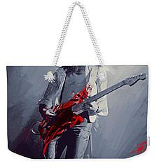 Eddie Van Halen Weekender Tote Bag by Afterdarkness