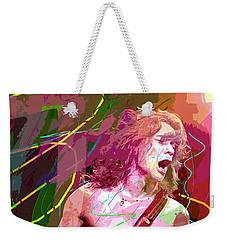Eddie Van Halen Jump Weekender Tote Bag