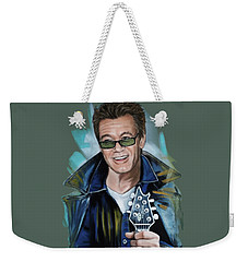 Eddie Van Halen Weekender Tote Bag by Melanie D
