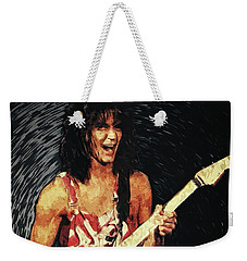 Eddie Van Halen Weekender Tote Bag