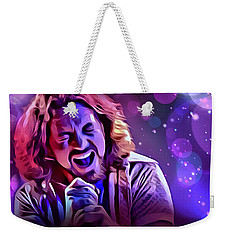 Eddie Vedder Portrait Weekender Tote Bag by Scott Wallace