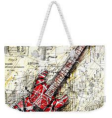 Eddie's Guitar 3 Weekender Tote Bag