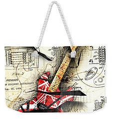 Eddie's Guitar Weekender Tote Bag